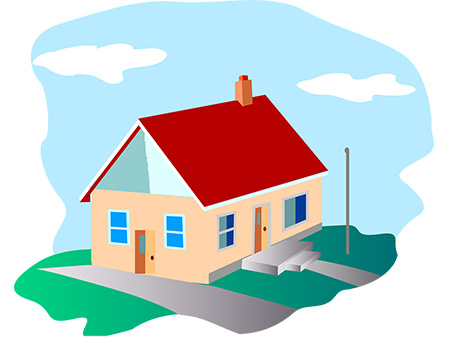 Buy a house in good condition