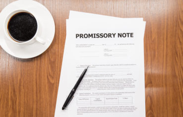 What is a promissory note